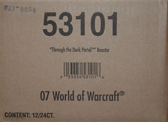 World of Warcraft Dark Portal Booster 12-Box Case 53101