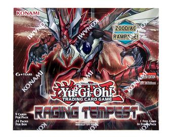 Yu-Gi-Oh Raging Tempest Booster Box