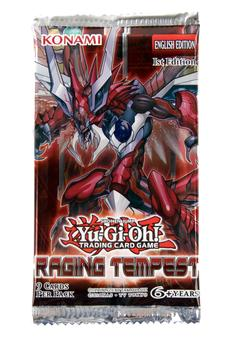 Konami Yu-Gi-Oh Raging Tempest Booster Pack