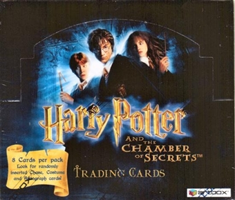 Harry Potter and The Chamber of Secrets Hobby Box (2006 Artbox)