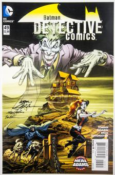 Neal Adams Autographed 11x17 Detective Comics #49 Lithograph