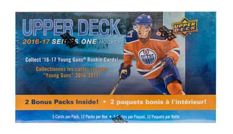 2016/17 Upper Deck Series 1 Hockey 12-Pack Box