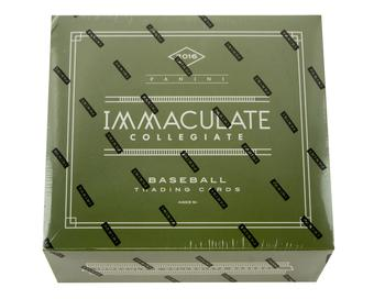 2016 Panini Immaculate Collegiate Baseball Hobby Box