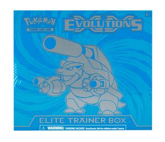 Pokemon XY Evolutions Mega Blastoise Elite Trainer Box