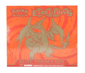 Pokemon XY Evolutions Mega Charizard Elite Trainer Box