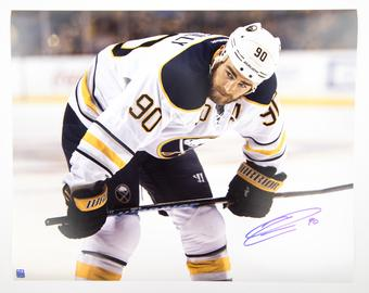 Ryan O'Reilly Autographed Buffalo Sabres Faceoff 16x20 Photo