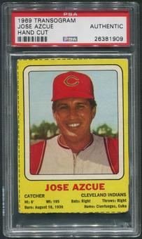 1969 Transogram Jose Azcue Hand Cut PSA Authentic