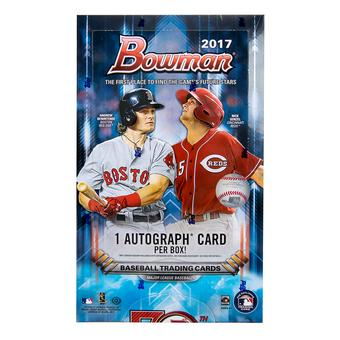 2017 Bowman Baseball Hobby Box