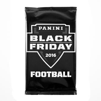 2016 Panini Black Friday NFL Football Pack