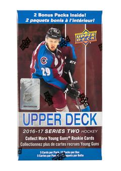 2016/17 Upper Deck Series 2 Hockey 12-Pack Box