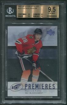 2007/08 Upper Deck Ice #221 Patrick Kane Rookie #26/99 BGS 9.5 (GEM MINT)