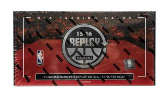 2015/16 Panini Replay Basketball Hobby Box (PLUS 1 Mosaic Box!)