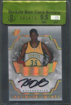 2007/08 SPx #KD Kevin Durant Endorsements Rookie Auto BGS 9.5 (GEM MINT) Raw Card Review