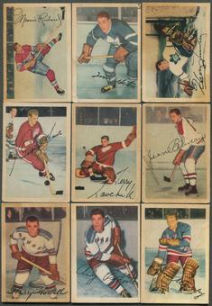 1953/54 Parkhurst Hockey Complete Set (VG)