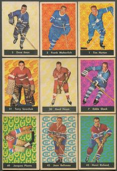 1961/62 Parkhurst Hockey Complete Set (VG)