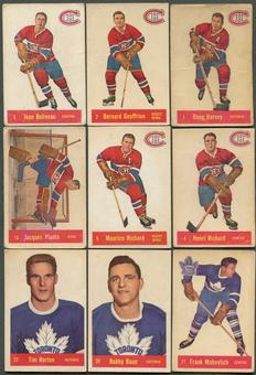 1957/58 Parkhurst Hockey Complete Set (VG)