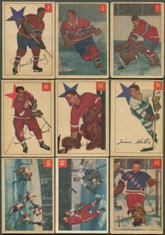 1954/55 Parkhurst Hockey Complete Set (POOR)