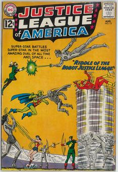 Justice League of America # 13  FN-