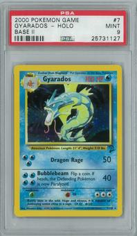 Pokemon Base Set 2 Gyarados 6/102 Single PSA 9