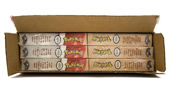 Pokemon Fossil Hanging Precon Theme Deck Box - 6 Decks!