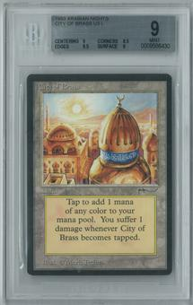 Magic the Gathering Arabian Nights Single City of Brass BGS 9 MINT (9, 8.5, 9.5, 9)