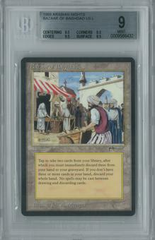 Magic the Gathering Arabian Nights Single Bazaar of Baghdad BGS 9 MINT (9.5, 9.5, 9.5, 8.5)
