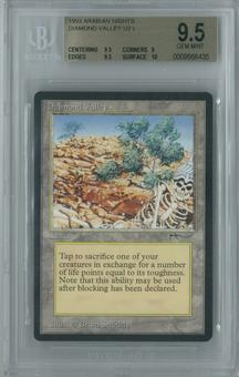 Magic the Gathering Arabian Nights Single Diamond Valley BGS 9.5 GEM MINT (9.5, 9, 9.5, 10)