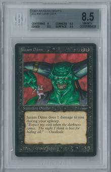 Magic the Gathering Arabian Nights Single Juzam Djinn BGS 8.5 NM-MT+ (9, 8.5, 8.5, 9.5)