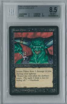 Magic the Gathering Arabian Nights Single Juzam Djinn BGS 8.5 NM-MT+ (9, 8, 9, 9.5)