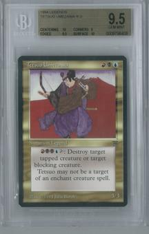 Magic the Gathering Legends Single Tetsuo Umezawa BGS 9.5 GEM MINT (10, 9, 9.5, 10)