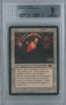 Magic the Gathering Antiquities Single Mishra's Workshop BGS 9 MINT (9.5, 9.5, 9.5, 8.5)
