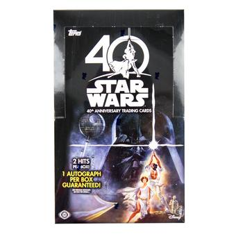 Star Wars 40th Anniversary Hobby Box (Topps 2017)