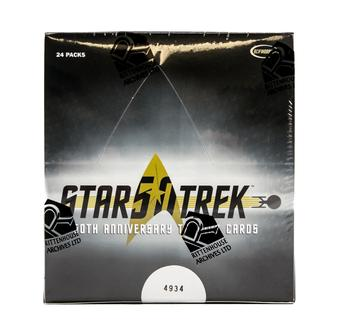 Star Trek 50th Anniversary Hobby Box (Rittenhouse 2017)