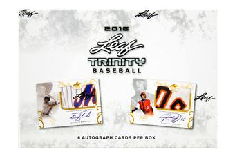 2016 Leaf Trinity Baseball Hobby Box