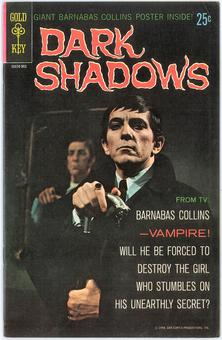 Dark Shadows #1 VF-  (poster attached)