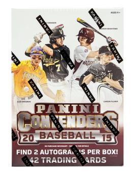 2015 Panini Contenders Baseball 7-Pack Box