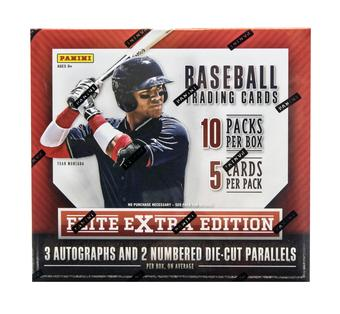 2015 Panini Elite Extra Edition Longevity Baseball Box