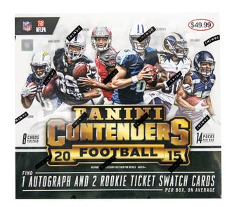 2015 Panini Contenders Football 14-Pack Box