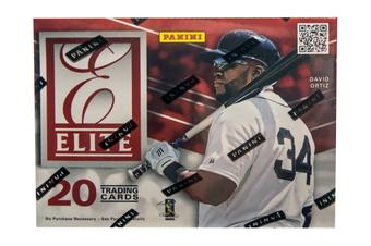 2015 Panini Elite Baseball 4-Pack Box