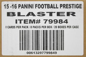 2015 Panini Prestige Football 8-Pack 20-Box Case