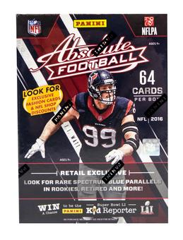 2016 Panini Absolute Football 8-Pack Box