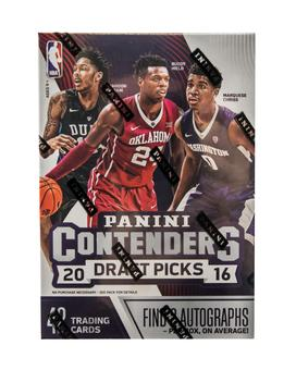 2016/17 Panini Contenders Draft Picks Basketball 7-Pack Box