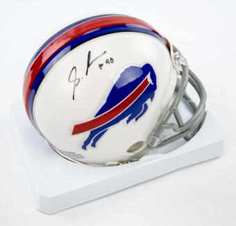 Shaq Lawson Autographed Buffalo Bills Mini Football Helmet