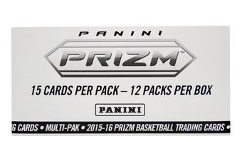 2015/16 Panini Prizm Basketball Super Pack Box