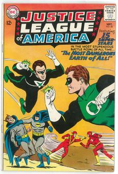 Justice League of America #30 FN