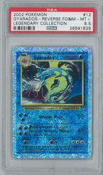 Pokemon Legendary Collection Gyarados 12/110 Reverse Foil PSA 8.5