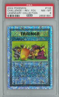 Pokemon Legendary Collection Challenge! 106/110 Reverse Foil PSA 8
