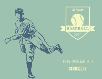 2017 Hit Parade Baseball 1948 - 1955 Edition 10 Box Case