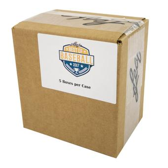 2017 Leaf Best Of Baseball Hobby 5-Box Case