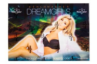 BenchWarmer Dreamgirls Trading Cards Box (2017)
